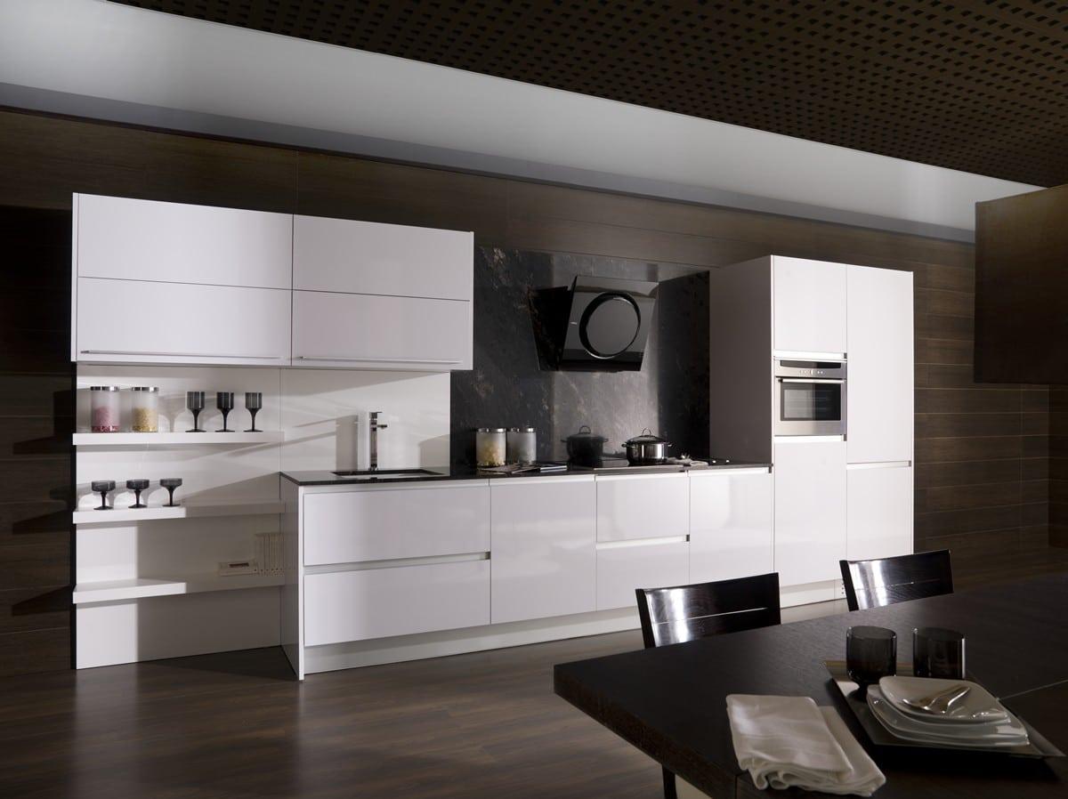 cocina laminada estratificada blanco brillo 01